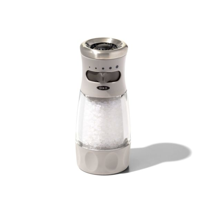 Contoured Mess-Free Salt Grinder