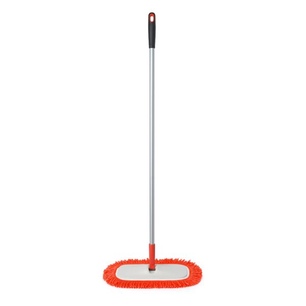 OXO Good Grips Microfiber Floor Duster with Fringe