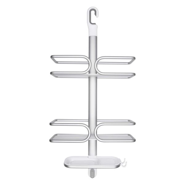 Aluminum 3-Tier Shower Caddy