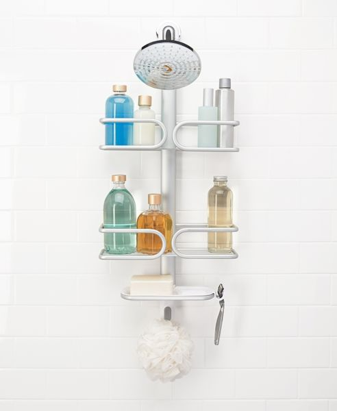 Aluminum 3 Tier Shower Caddy