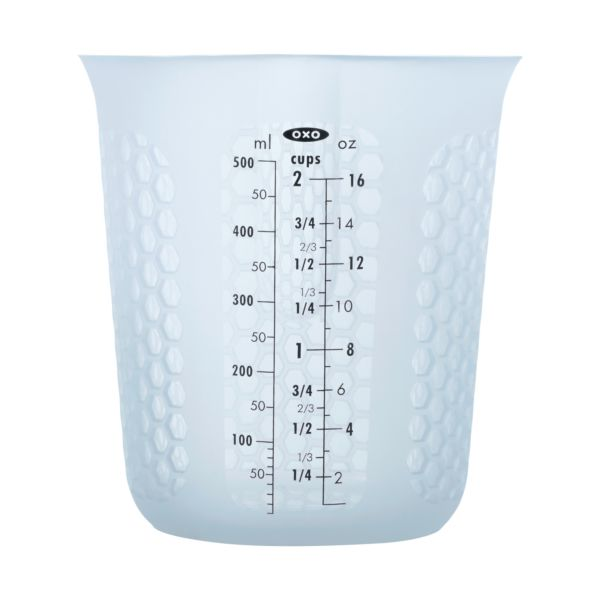 2 Cup Squeeze & Pour Silicone Measuring Cup