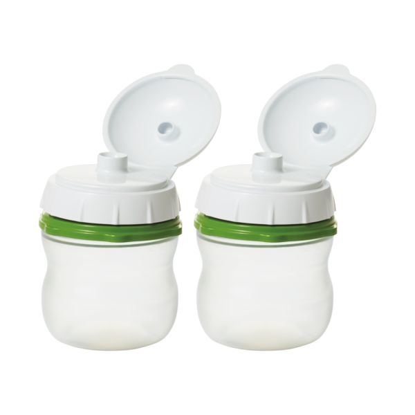 On-The-Go Silicone Squeeze Bottle - 2 Pack