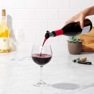 Steel Wine Stopper & Pourer