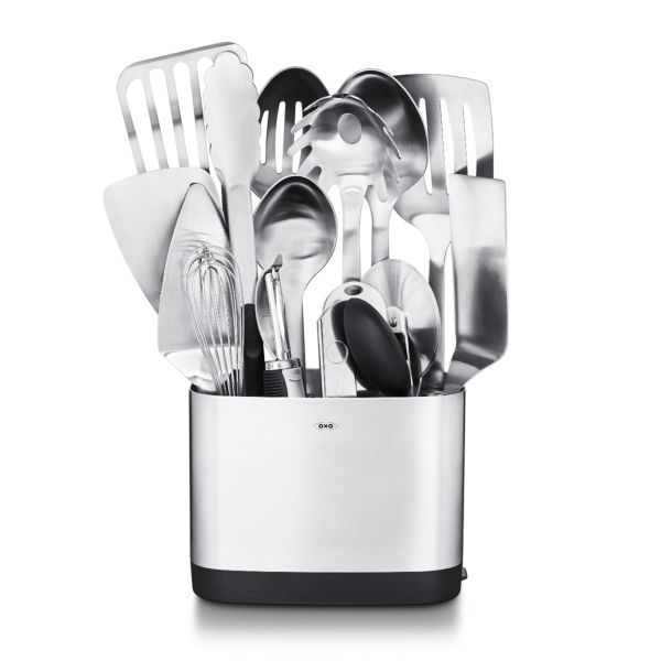 SteeL 15-Piece Utensil Set