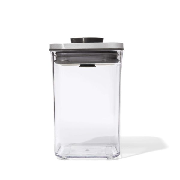 Steel POP Container - Small Square Short (1.1 Qt)