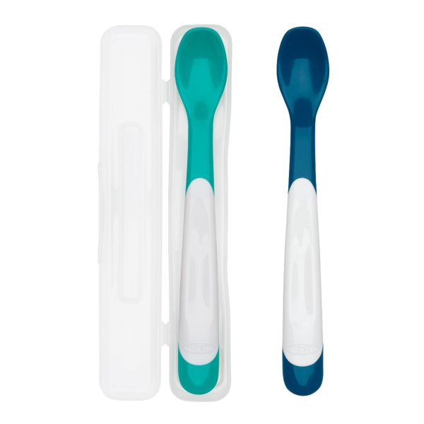 OXO Tot On-The-Go Infant Feeding Spoon with Case