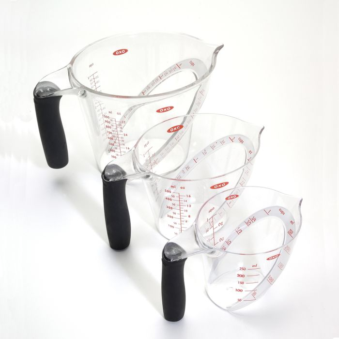 3 Piece Angled Measuring Cup Set 432