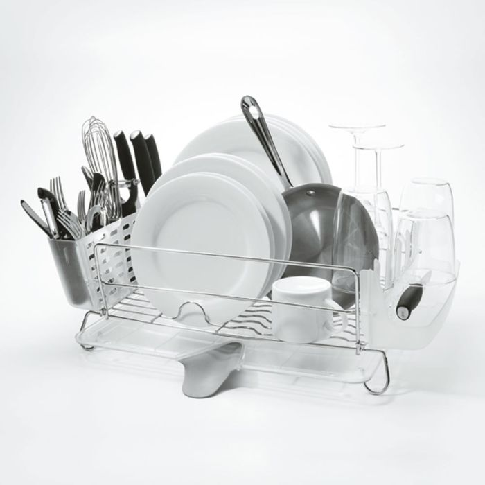 Folding Stainless Steel Dish Rack 1641