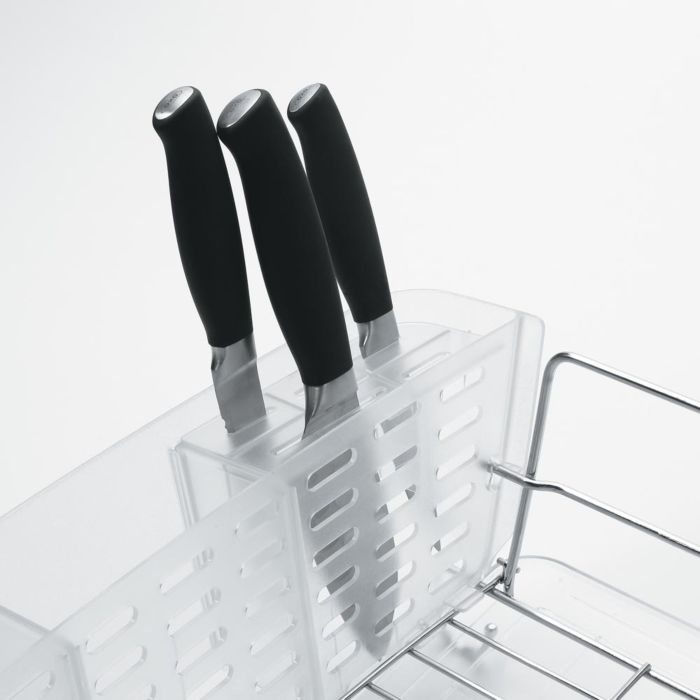 Folding Stainless Steel Dish Rack 1639