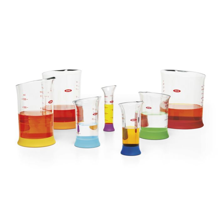 7 Piece Liquid Measuring Beaker Set 468