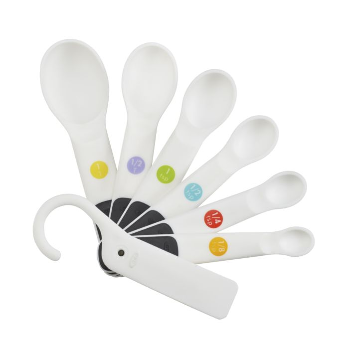 7 Piece Plastic Measuring Spoons 2296