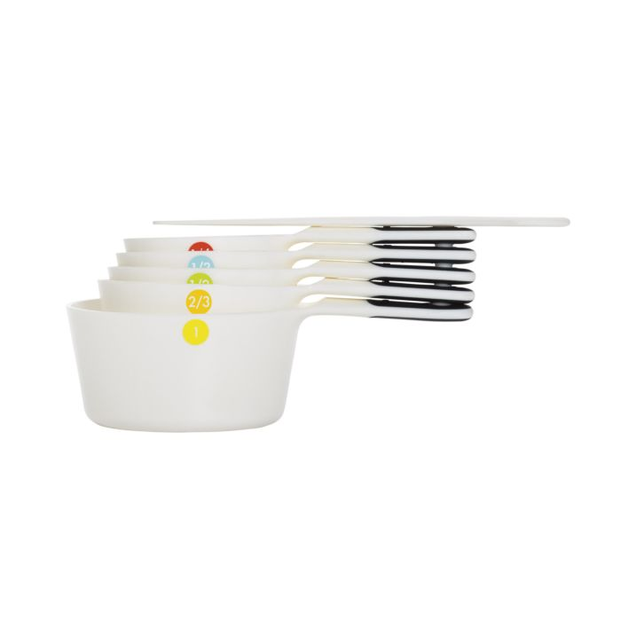 6 Piece Plastic Measuring Cups 2303