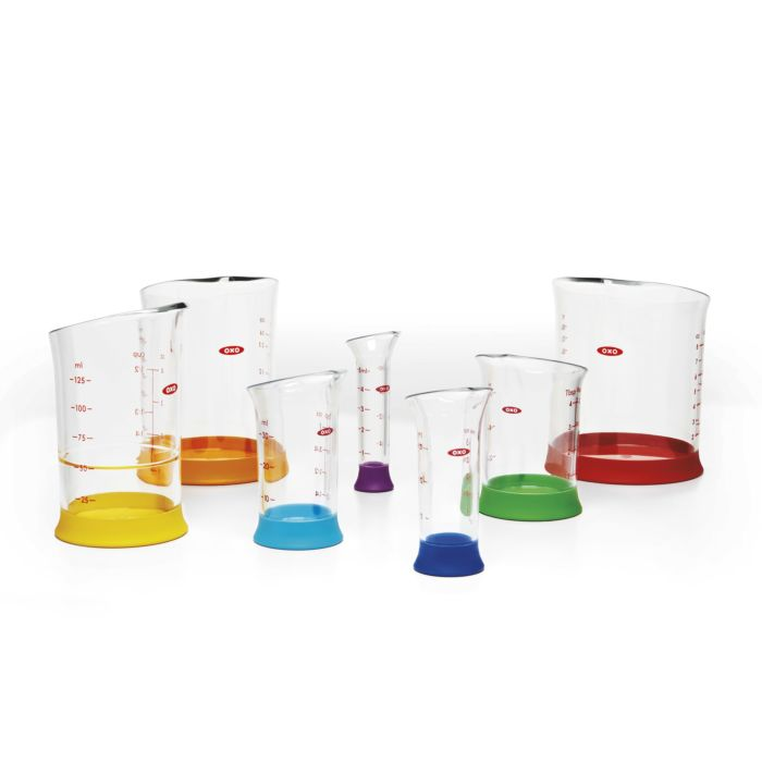7 Piece Liquid Measuring Beaker Set 471