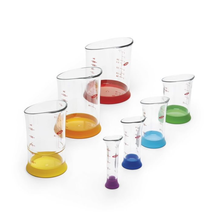 7 Piece Liquid Measuring Beaker Set 473