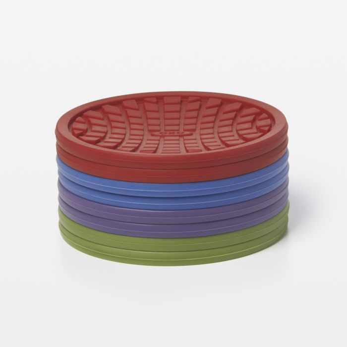 Silicone Coasters (8 pk.) - Assorted Colors 1280