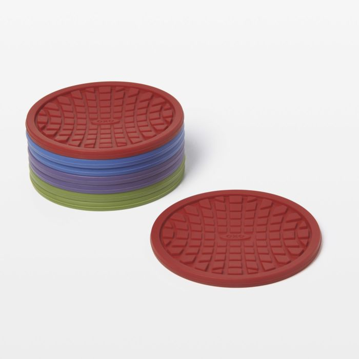 Silicone Coasters (8 pk.) - Assorted Colors 1283