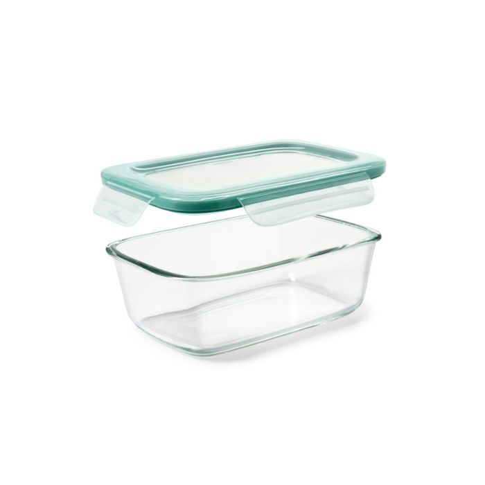 OXO Good Grips 8 Cup Smart Seal Glass Rectangle Container 8911