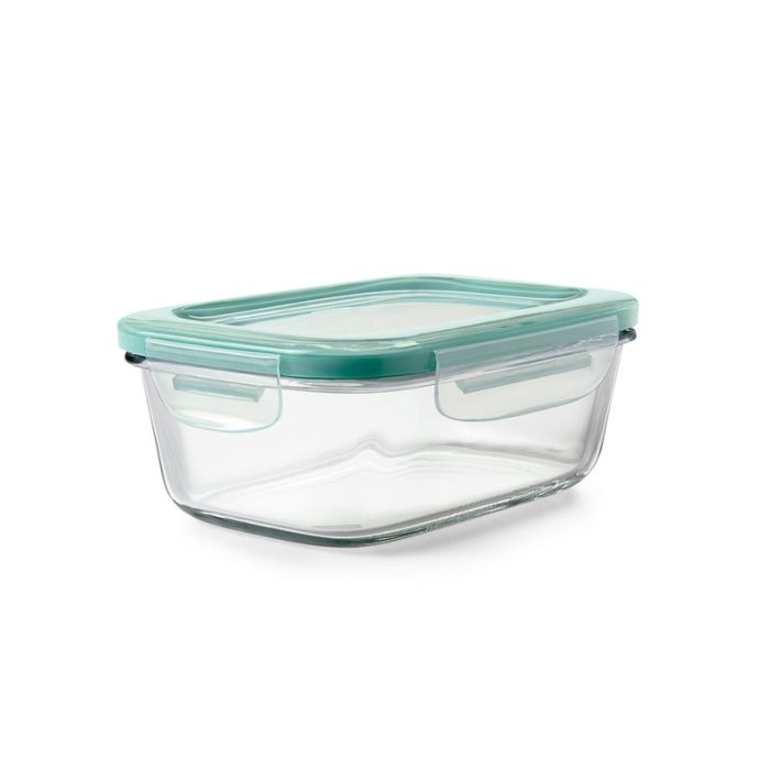 OXO Good Grips  3.5 Cup Smart Seal Glass Rectangle Container 8900