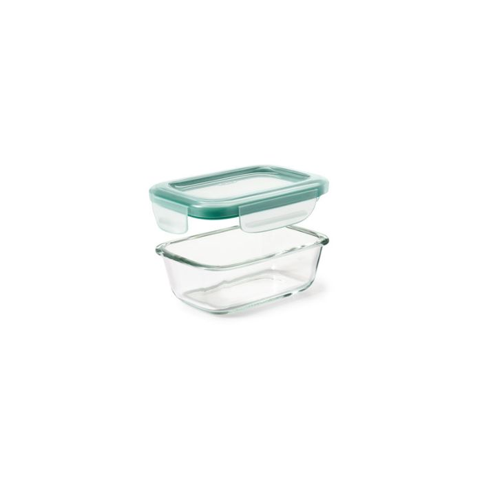 OXO Good Grips 1.6 Cup Smart Seal Glass Rectangle Container 8895