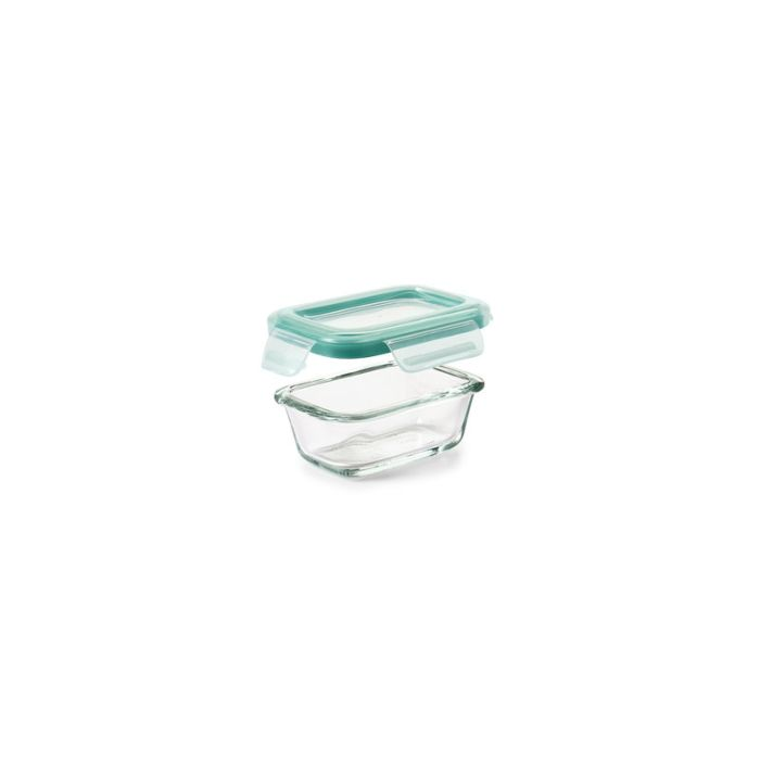 OXO Good Grips 4 oz Smart Seal Glass Rectangle Container 8886
