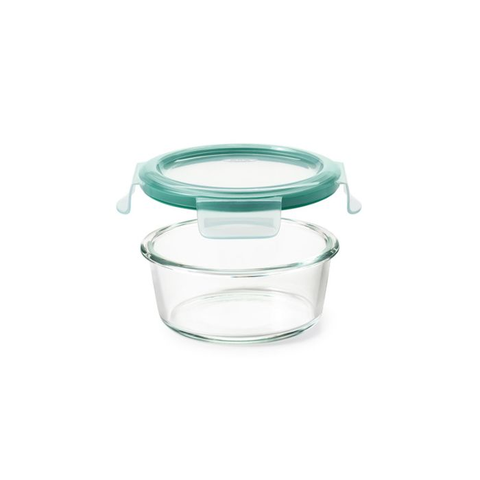 2 Cup Smart Seal Glass Round Container 8863