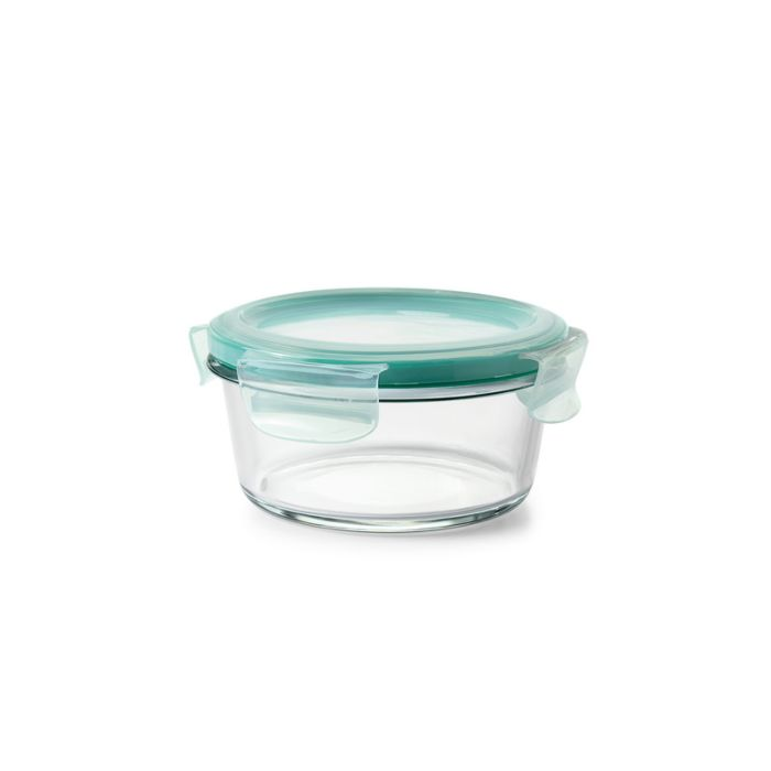 2 Cup Smart Seal Glass Round Container 8860