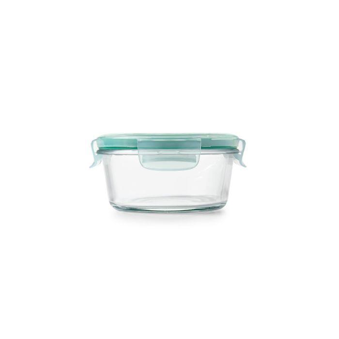 2 Cup Smart Seal Glass Round Container 8862
