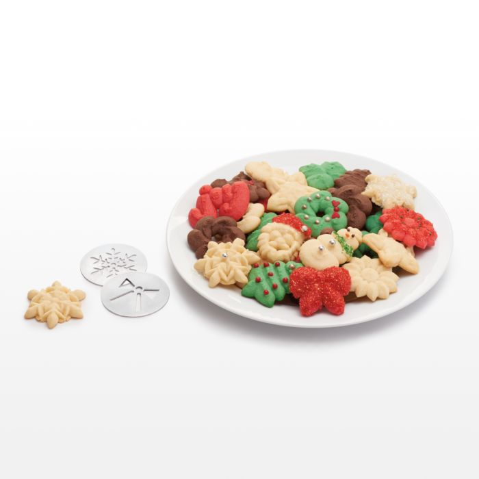 Christmas Cookie Press Disk Set 3413