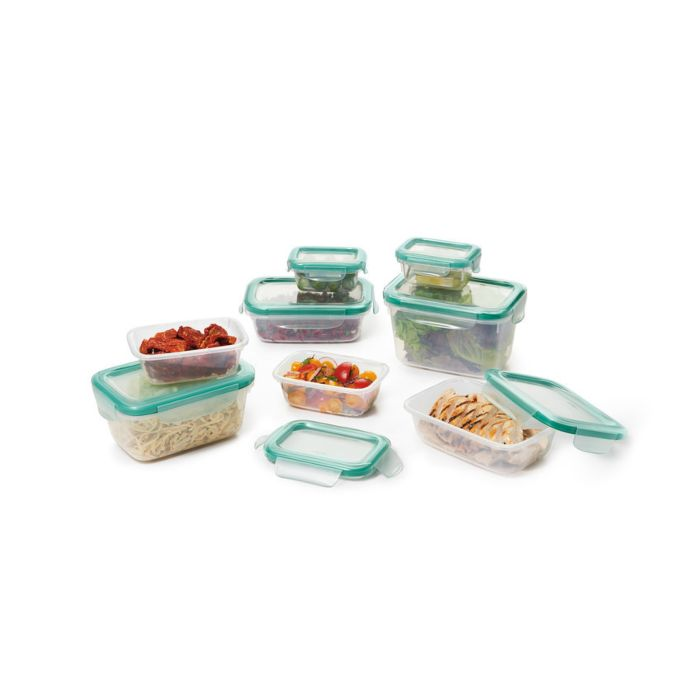 OXO Good Grips 16 Piece Smart Seal Plastic Container Set 8924