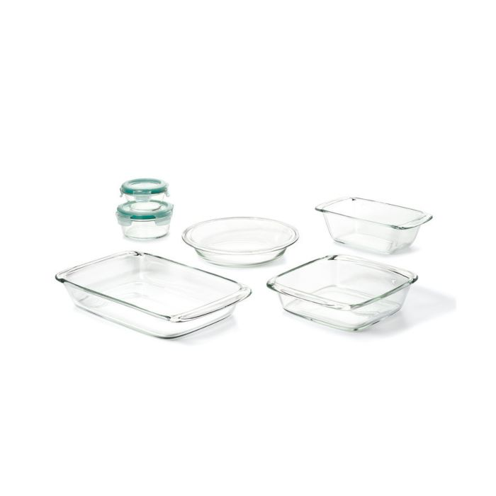 OXO Good Grips 8 Piece Glass Bake, Serve & Store Set 8960
