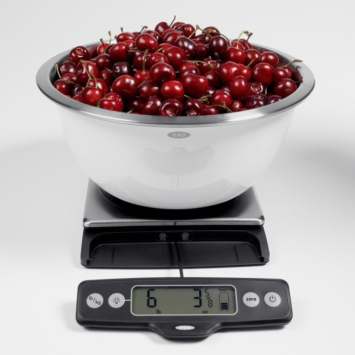 11lb Food Scale with Pull Out Display 402