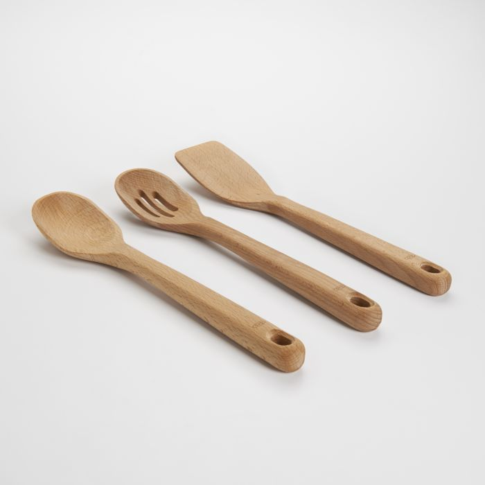 3 Piece Wooden Utensil Set 1028