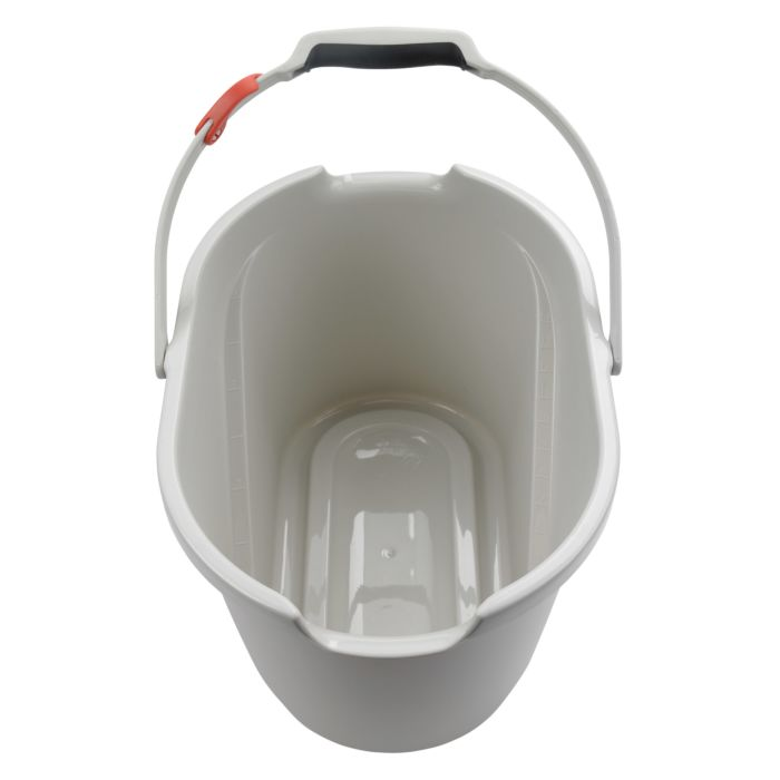 Top view of OXO Angled Measuring Bucket