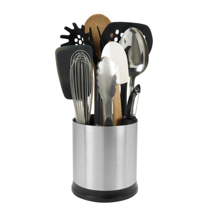 Stainless Steel Rotating Utensil Holder 2126