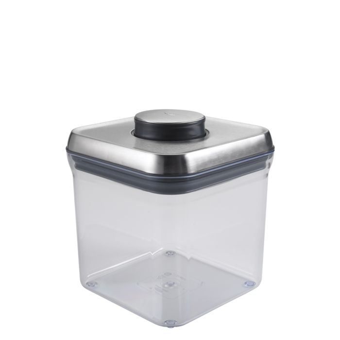 OXO SteeL POP Container -Big Square (2.4 Qt) 2074