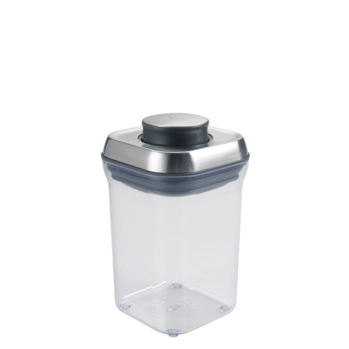 OXO SteeL POP Container - Small Square (0.9 Qt) 2078
