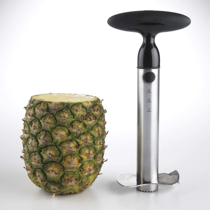 OXO Stainless Steel Ratcheting Pineapple Slicer 636