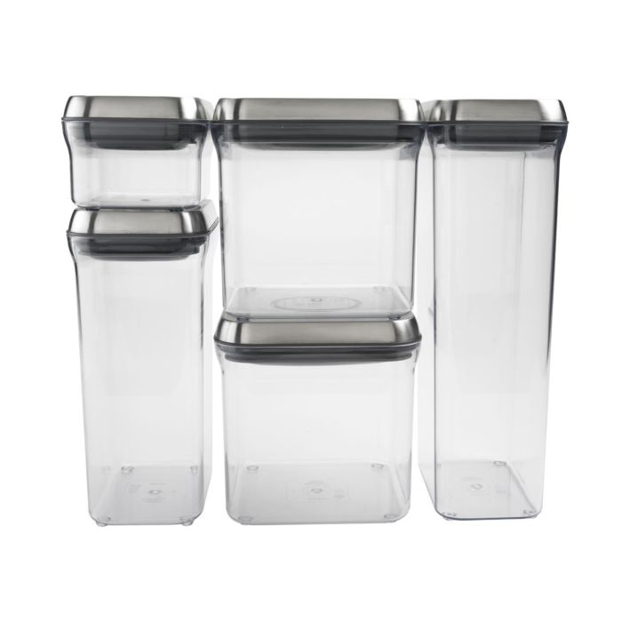 SteeL 5-Piece POP Container Set 2082