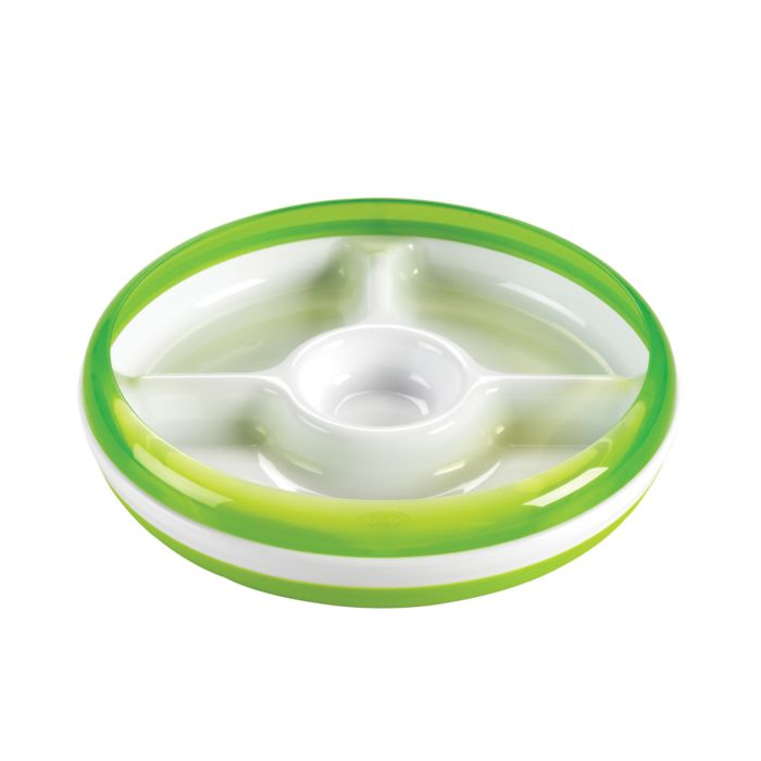 OXO Tot Divided Plate with Removable Ring 2649