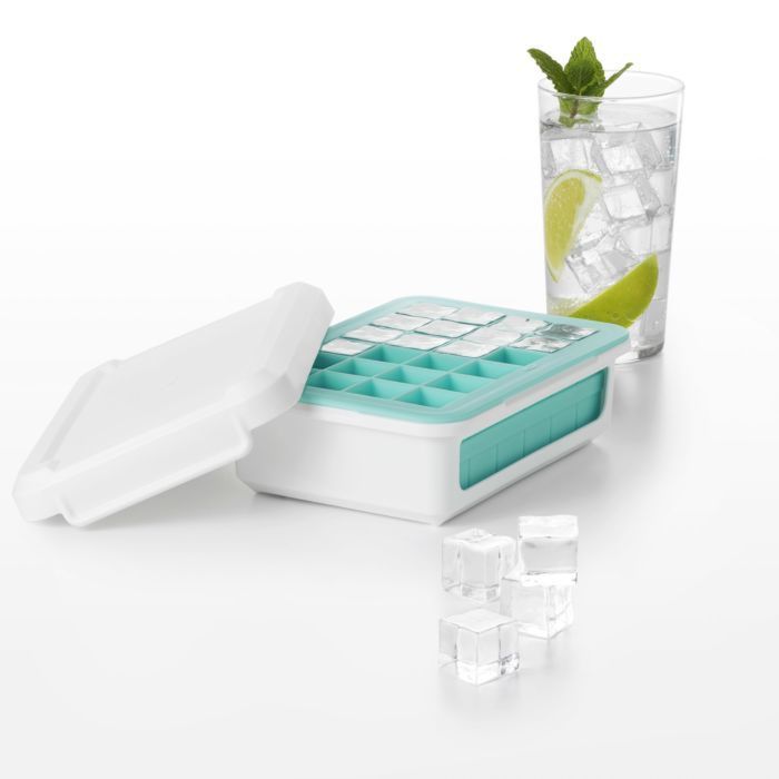 Covered Silicone Ice Cube Tray-Cocktail Cubes 176957