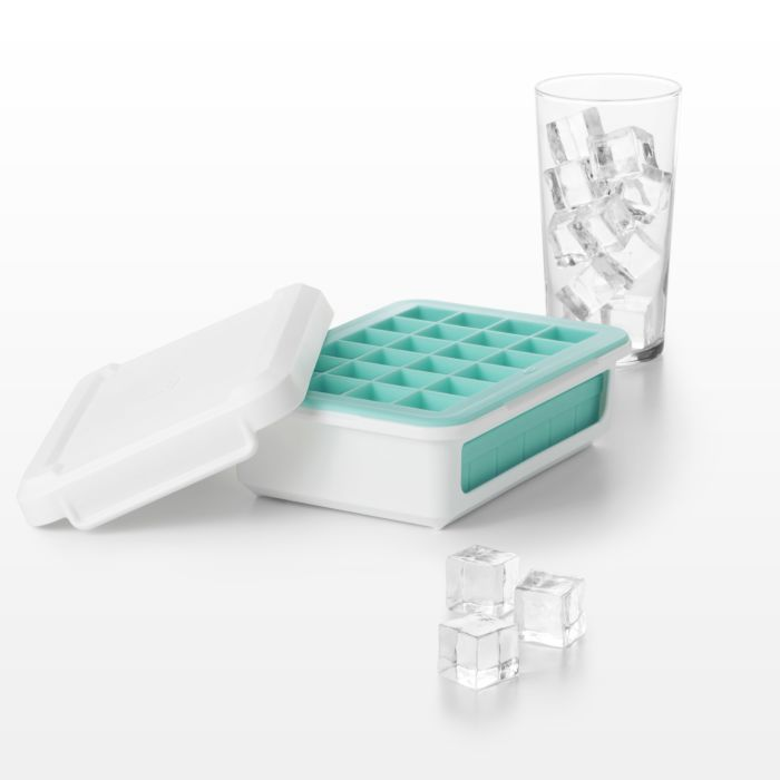 Covered Silicone Ice Cube Tray-Cocktail Cubes 176956