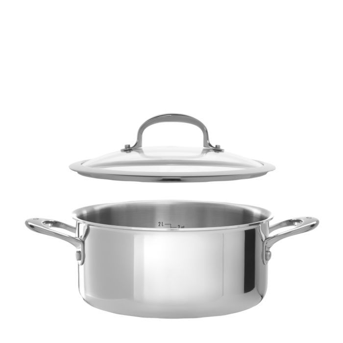 Stainless Steel Pro 13 Piece Cookware Set 795