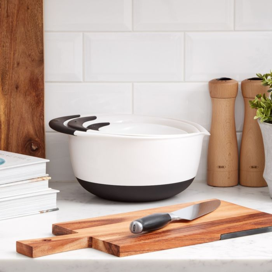 OXO Good Grips Classic Wood Salt & Pepper Mill Set 6429