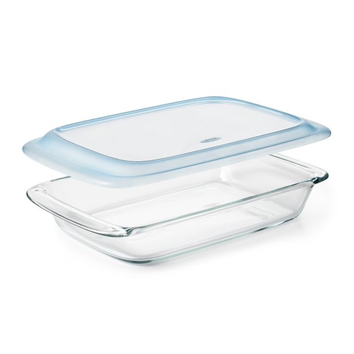 Glass Baking Dish with Lid (3.0 Qt) 9060