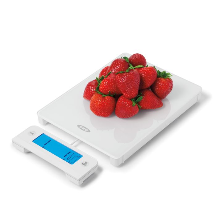 11 lb Glass Food Scale with Pull Out Display 3754