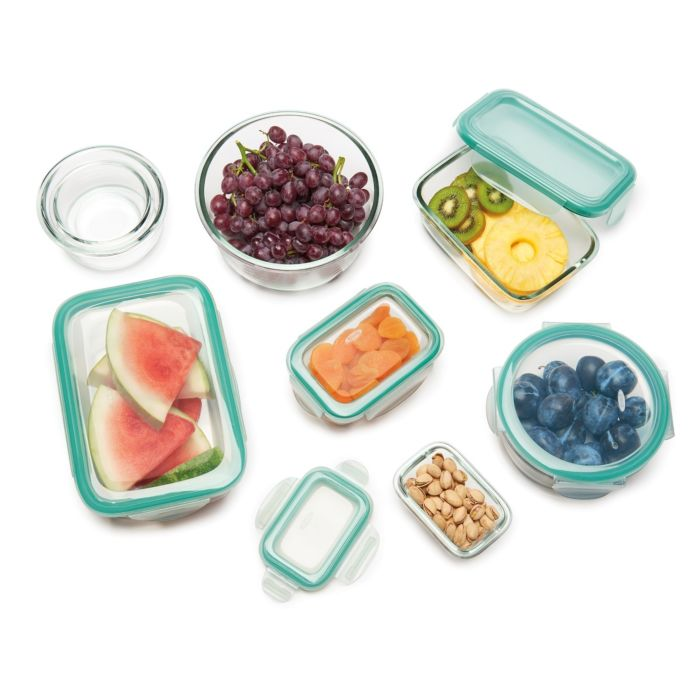 OXO 16 Piece Smart Seal Glass Container Set 8941