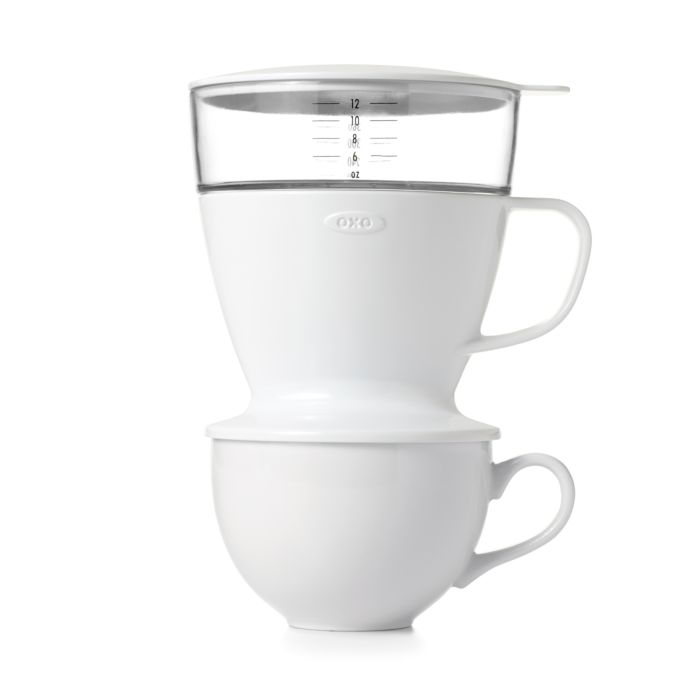 Pour-Over Coffee Maker with Water Tank 9313