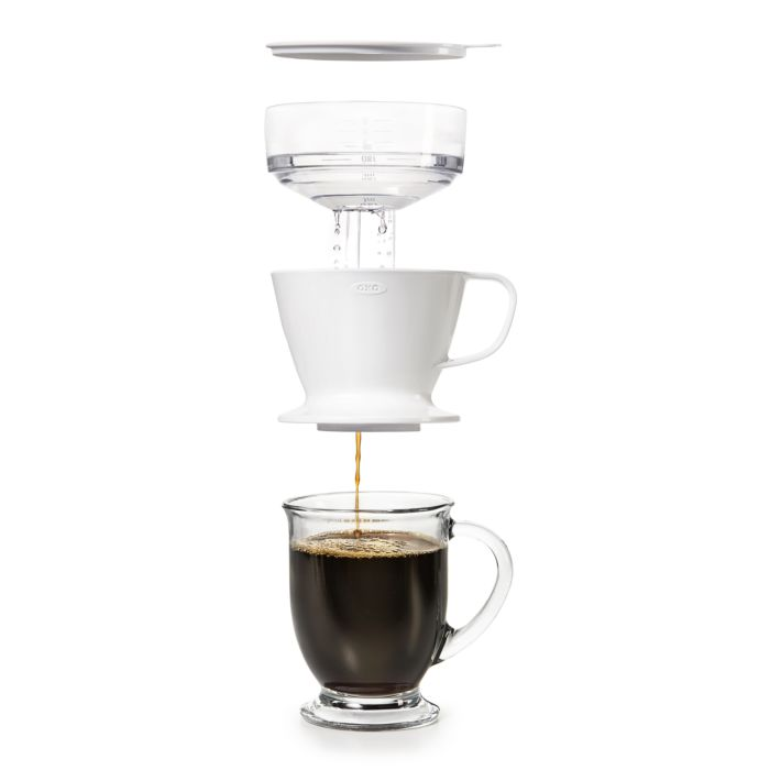 Pour-Over Coffee Maker with Water Tank 9315