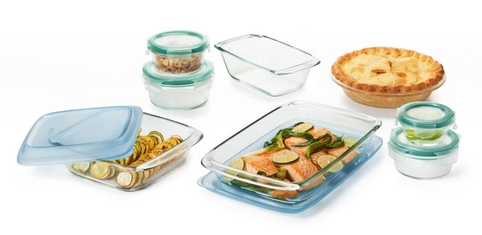 14 Piece Glass Bake, Serve & Store Set 176753