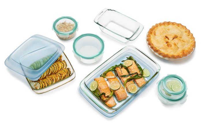 14 Piece Glass Bake, Serve & Store Set 176754